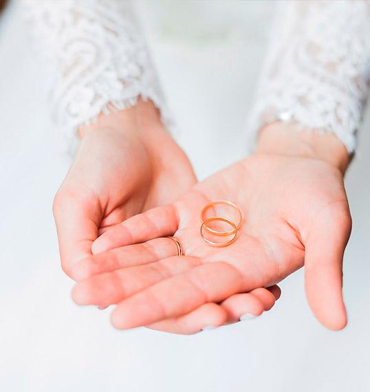 design matrimonio fedi