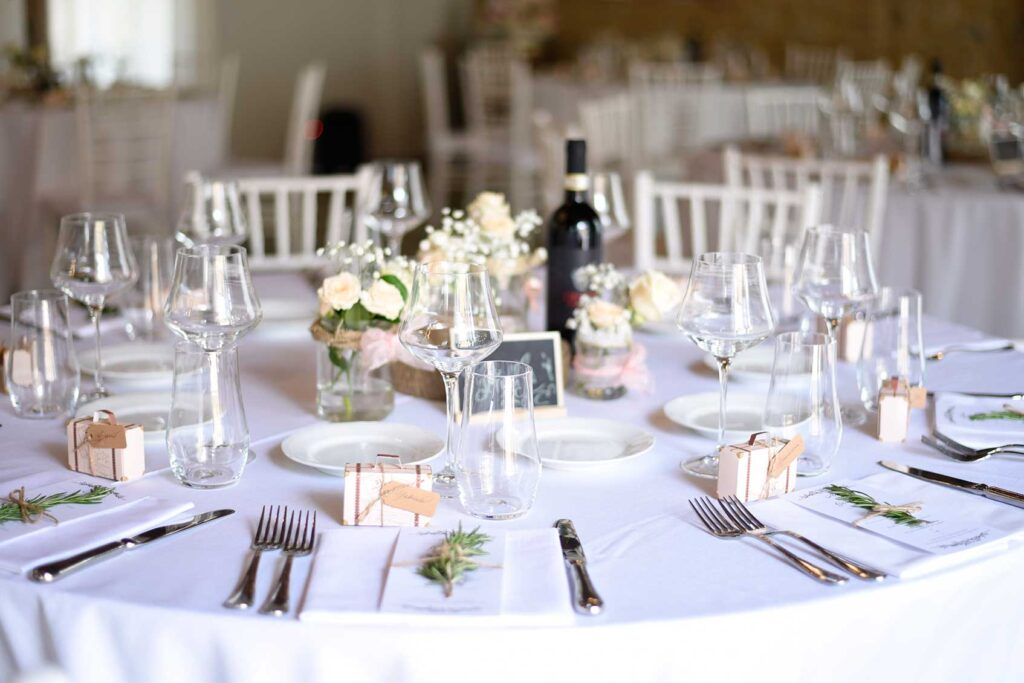 organizzare un matrimonio tavola